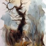 Winter Tree watercolour 20x14ins